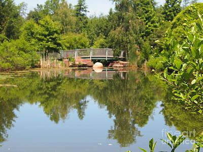 Webster Ny Photograph - Arboretum by Jennifer Craft