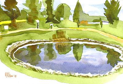 Arcadia Valley Painting - Arcadia Valley Country Club II by Kip DeVore