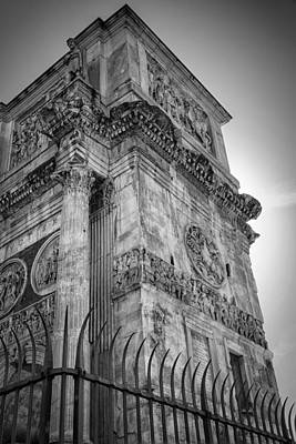 Arch Of Constantine Original by Joan Carroll