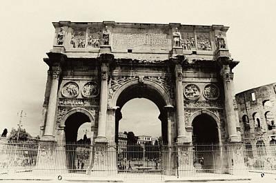 Arch Of Constantine  Print by Mirko Dabic