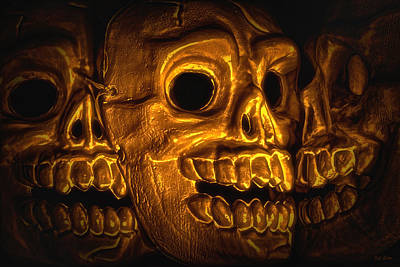 Creepy Digital Art - Archaeology by Jeff  Gettis
