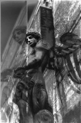 Archangel Triptych I Print by Marianne Campolongo