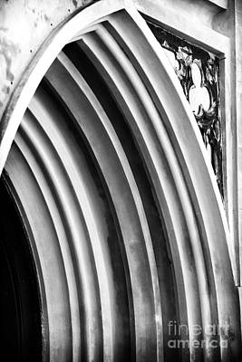 Religious Artist Photograph - Arches At Huguenot by John Rizzuto