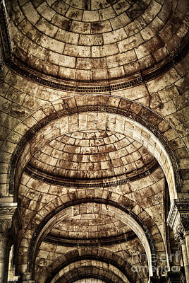 Round Building Photograph - Arches by Elena Elisseeva