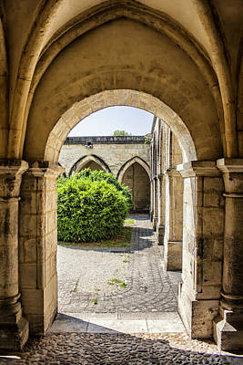Arches In Perigueux Print by Georgia Fowler