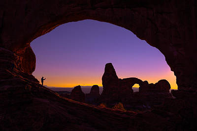 Arches Witness Print by Darren  White