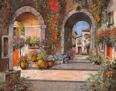 Archi E Sotoportego Original by Guido Borelli