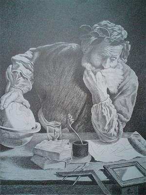 Archimedes Print by Zdzislaw Dudek