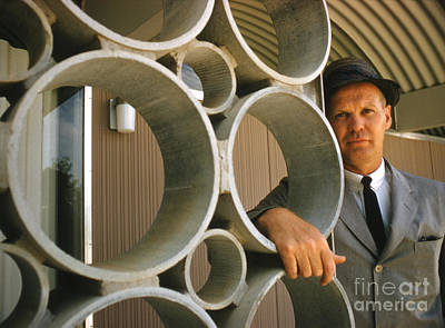 Oklahoma Photograph - Architect R. Duane Conner 1961 by The Phillip Harrington Collection