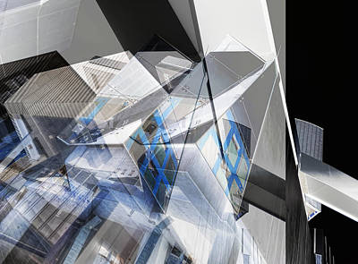 Chromatic Photograph - Architectural Abstract by Wayne Sherriff