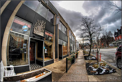 Downtown Photograph - Architecture And Places In The Q.c. Series Merge by Michael Frank Jr