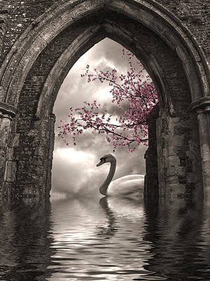 Archway To Heaven Print by Sharon Lisa Clarke