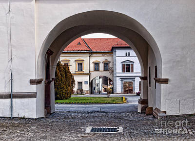 Archways Print by Les Palenik
