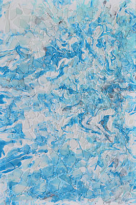 Arctic Mixed Media - Arctic Thaw by Donna Blackhall
