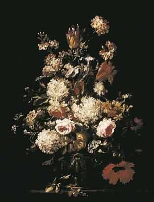 Arellano, Juan De 1614-1676. Vase Print by Everett