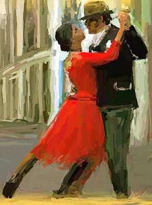 Argentina Tango Print by James Shepherd