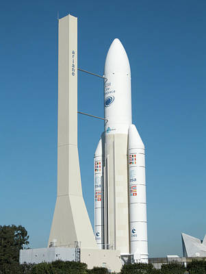 Ariane 5 Exhibit Print by Alex Bartel