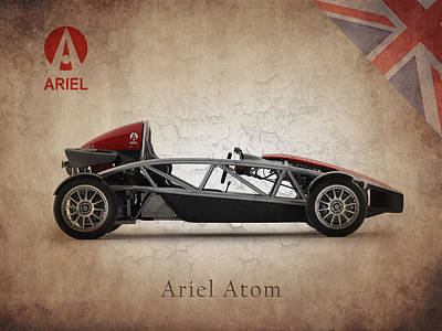 Atom Photograph - Ariel Atom by Mark Rogan
