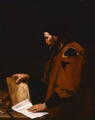 Aristotle Painting - Aristotle by Jusepe de Ribera