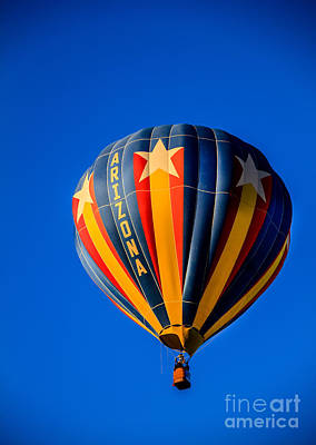 Arizona Balloon Print by Robert Bales