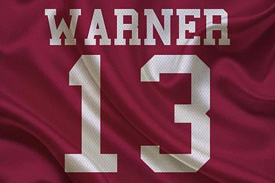Warner Photograph - Arizona Cardinals Kurt Warner by Joe Hamilton