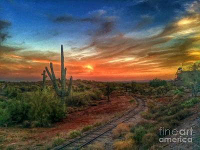 Arizona Heaven  Print by L Jackson