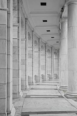 Washington Dc Photograph - Arlington Amphiteather Arches And Columns by Susan Candelario