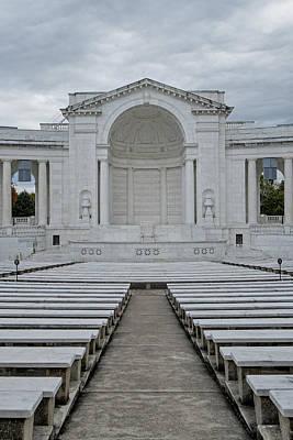 Arlington Amphitheater Print by Susan Candelario