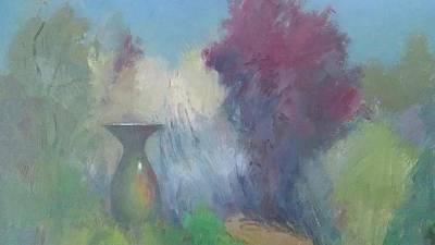 Pasadena Painting - Arlington Gardens by Karla Bartholomew