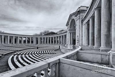 Arlington Memorial Amphitheater Print by Ava Reaves
