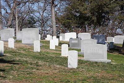 Arlington National Cemetery - 12126 Print by DC Photographer