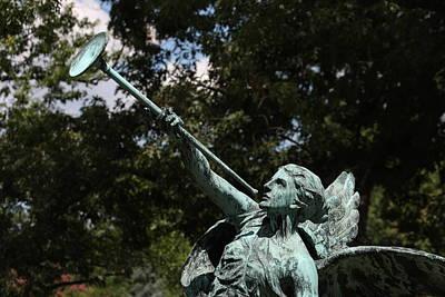 Cemetary Photograph - Arlington National Cemetery - 12128 by DC Photographer