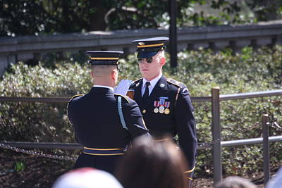 Tomb Photograph - Arlington National Cemetery - Tomb Of The Unknown Soldier - 121221 by DC Photographer