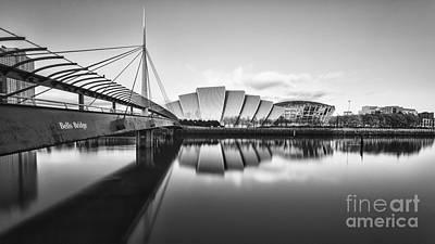 Armadillo Glasgow Scotland Print by John Farnan