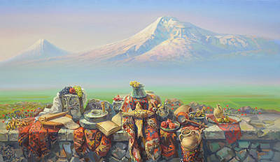 Armenia My Love Print by Meruzhan Khachatryan