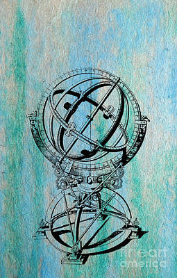 Planetary System Mixed Media - Armilla by R Kyllo