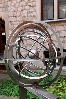 Cracow Photograph - Armillary Sphere by Photostock-israel