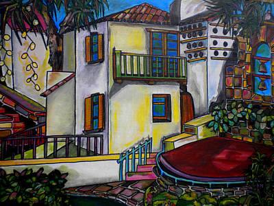 Historical Buildings Painting - Arneson Theatre IIi by Patti Schermerhorn