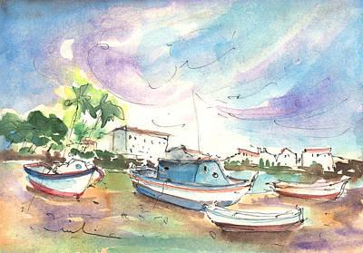 Arrecife In Lanzarote 01 Print by Miki De Goodaboom
