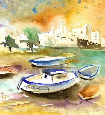 Lanzarote Painting - Arrecife In Lanzarote 13 by Miki De Goodaboom
