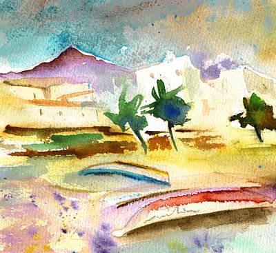 Lanzarote Painting - Arrecife In Lanzarote 14 by Miki De Goodaboom