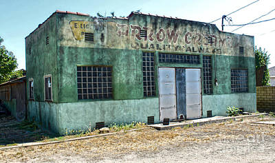 Arrow Creamery - Chino Ca - 02 Print by Gregory Dyer