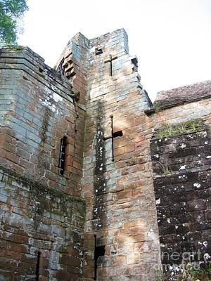 Medieval Photograph - Arrow Slits In The Tower by Denise Railey