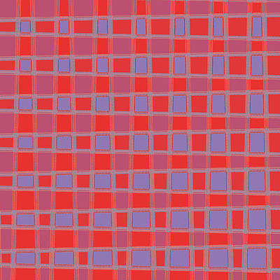 Solid Mixed Media - Art 1906 Elegant Graphic Pattern Squares Colorful Digitalart Graphicart Surface Texture Design Multi by Navin Joshi
