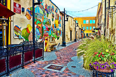 Fort Collins Photograph - Art Alley by Keith Ducker