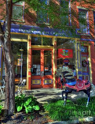 Indiana Scenes Photograph - Art And Coffee by Mel Steinhauer