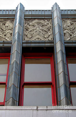 Art Deco Architectural Detail Print by Gregory Dyer