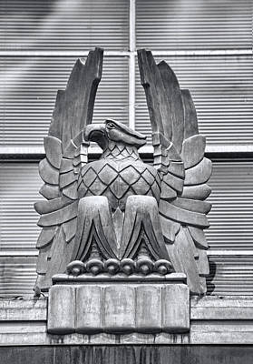 Art Deco Eagle Original by Linda Phelps