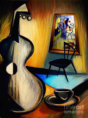 Digital Art By Frederick Luff Painting - Art Imitates A Still Life by Frederick  Luff