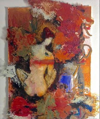 Art Is The Answer Print by Delona Seserman